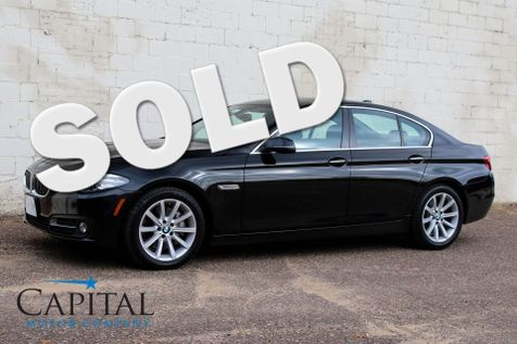2015 BMW 535d xDrive AWD Clean Diesel w/Navigation, Heated Seats, Head-Up Display & Harman/Kardon Audio in Eau Claire