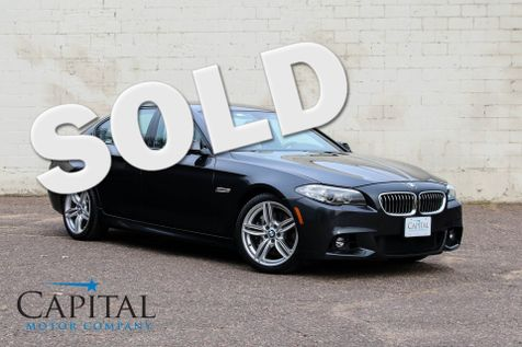 2015 BMW 535d xDrive AWD M-Sport Clean Diesel with Navigation, Heated Seats, HUD & Gorgeous Interior in Eau Claire