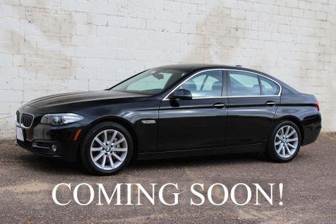 2015 BMW 535d xDrive AWD Clean Diesel w/Navigation, Heated Seats, Head-Up Display & Harman/Kardon Audio in Eau Claire