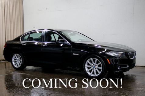 2015 BMW 535d xDrive AWD Clean Diesel w/Navigation, Heated Seats, Head-Up Display & Bluetooth Audio in Eau Claire