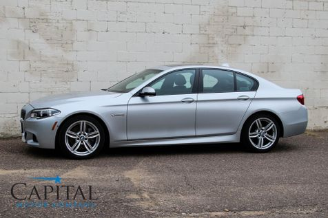 2015 BMW 535xi xDrive AWD M-SPORT Executive Sedan with Navigation, HUD, Cold Weather Pkg & LED Headlights in Eau Claire