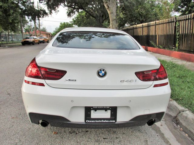 2015 BMW 640i xDrive Gran Coupe Miami, Florida 3