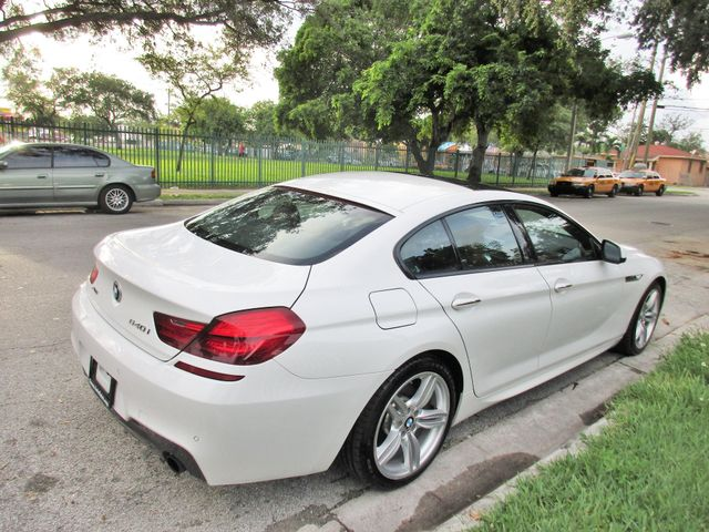 2015 BMW 640i xDrive Gran Coupe Miami, Florida 4