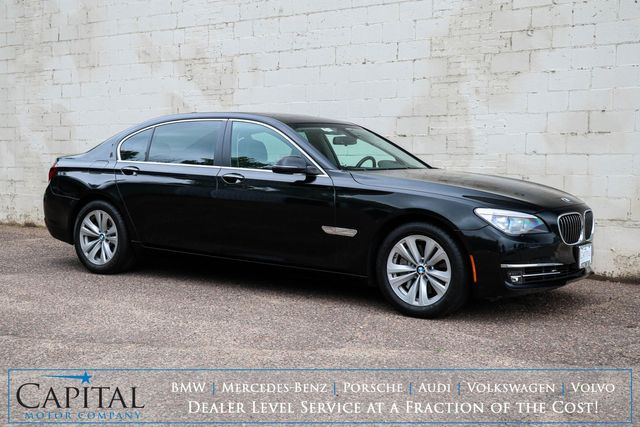 2015 BMW 740Ld xDrive AWD Clean Diesel Executive Sedan w/NAV, HUD, Heated/Cooled Seats & Gets 30+ MPG in Eau Claire, Wisconsin 54703