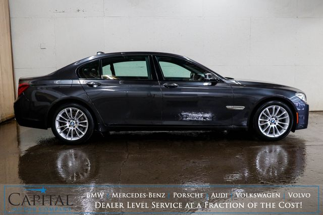2015 BMW 750Li xDrive AWD M-Sport Edition V8 with Executive Pkg, Nav, Head-Up Display & Night Vision in Eau Claire, Wisconsin 54703