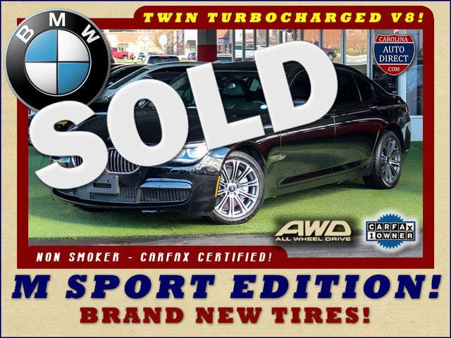 2015 BMW 750Li xDrive AWD - M SPORT EDITION - BRAND NEW TIRES! Mooresville , NC 0