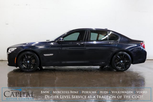 2015 BMW 750xi xDrive AWD M-Sport Edition w/Night Vision, Nav, 360º Cam, Active Seats w/Massage in Eau Claire, Wisconsin 54703