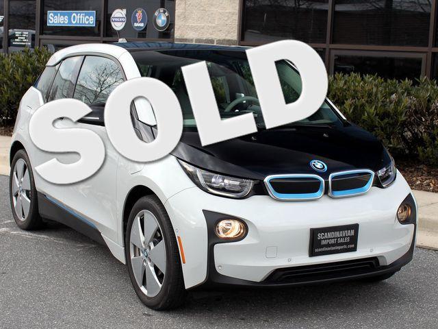 2015 BMW i3   Electric W/ Range Extender / CAM / NAV Rockville, Maryland