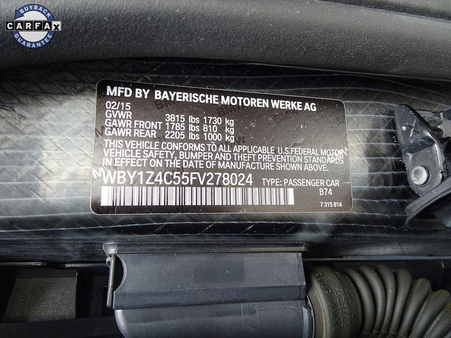 2015 BMW i3 with Range Extender Madison, NC 45