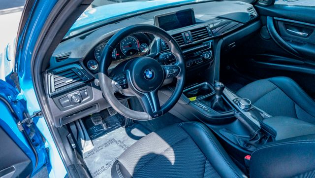 2015 BMW M3 6speed in Rare Yas Marina Blue with Many Upgrades in Dallas, TX 75229