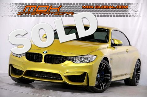 2015 BMW M4 - Executive pkg - H/K Surround Sound - HUD in Los Angeles