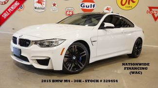 2015 BMW M4 Coupe AUTO,HUD,NAV,BACK-UP CAM,HTD LTH,H/K SYS,30K in Carrollton, TX 75006