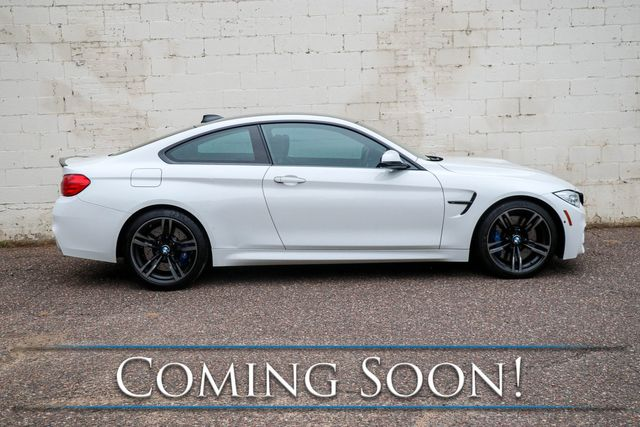 2015 BMW M4 Sports Coupe w/425HP Turbo, Head-Up Display, Heated/Cooled Seats, H/K Audio & LED Lighting in Eau Claire, Wisconsin 54703