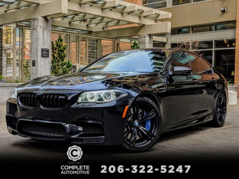 2015 BMW M5 Competition Executive Driver Assistance Plus B&O Sound Carbon Fiber Warranty MSRP was $121,035 in Seattle
