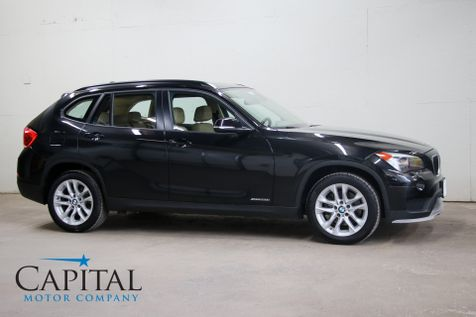 2015 BMW X1 xDrive28i AWD Crossover w/Heated Seats, Heated Steering Wheel, Panoramic Roof & Bluetooth Audio in Eau Claire