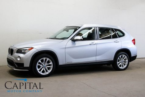 2015 BMW X1 xDrive28i AWD Crossover w/Navigation, Backup Cam, Heated Seats, Keyless Start & Panoramic Roof in Eau Claire
