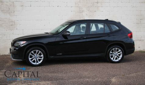 2015 BMW X1 xDrive28i AWD Crossover w/Panoramic Roof, Heated Seats & Steering Wheel and HiFi Audio in Eau Claire