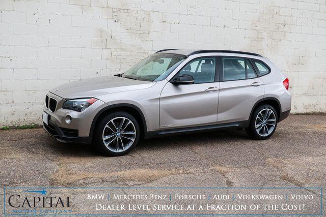 "2015 BMW X1 xDrive28i AWD Crossover w/Sport Pkg, Nav, Heated Seats, Driver Assist Pkg & 18"" Wheels"