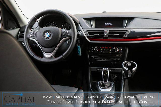 "2015 BMW X1 xDrive28i AWD Crossover w/Sport Pkg, Nav, Heated Seats, Driver Assist Pkg & 18"" Wheels in Eau Claire, Wisconsin 54703"
