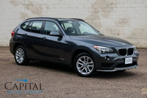 2015 BMW X1 xDrive28i AWD w/Ultimate Pkg, Navigation, Heated Seats, Keyless Start, Moonroof & Bluetooth in Eau Claire