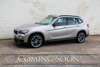 "2015 BMW X1 xDrive28i AWD Crossover w/Sport Pkg, Nav, Heated Seats, Driver Assist Pkg & 18"" Wheels in Eau Claire, Wisconsin 54703"