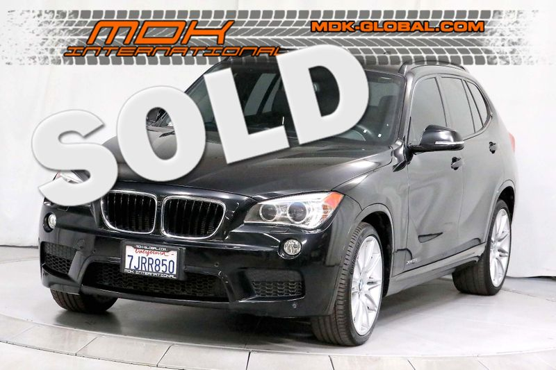 2015 BMW X1 xDrive35i - M Sport pkg - Navigation - Service Records  city California  MDK International  in Los Angeles, California