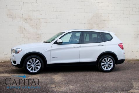 2015 BMW X3 xDrive28d AWD Clean Diesel with Navigation, Heated Seats, Panoramic Roof & Gets 34MPG in Eau Claire