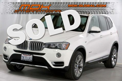 2015 BMW X3 xDrive28d - Navigation - Pano roof - Diesel in Los Angeles