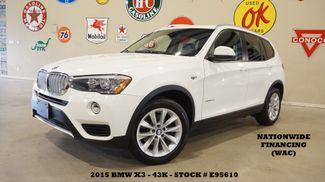 2015 BMW X3 xDrive28d PANO ROOF,NAV,HTD LTH,18IN WHLS,43K in Carrollton TX, 75006
