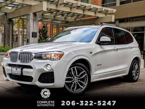 2015 BMW X3 xDrive28d Diesel All Wheel Drive M Sport Driver Assist Cold Weather Premium Pkgs Like New Save! in Seattle