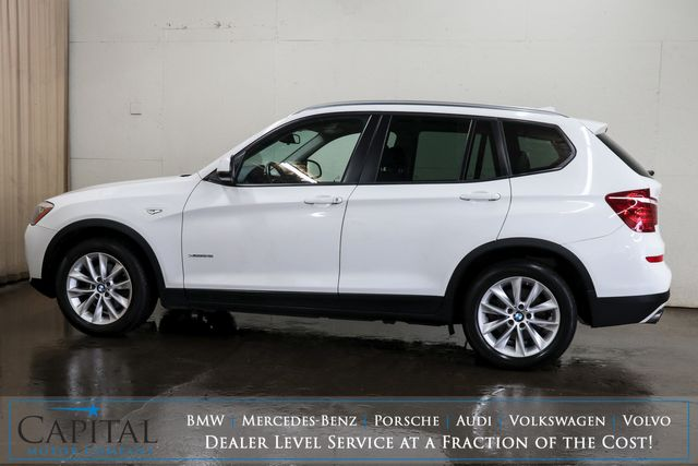 2015 BMW X3 xDrive28i AWD Crossover w/Nav, Panoramic Moonroof, Comfort Access and Bluetooth Audio in Eau Claire, Wisconsin 54703