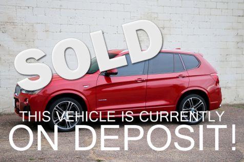 2015 BMW X3 xDrive35i Crossover SUV with M-Sport Pkg Head-Up Display, Navigation, Tech Pkg & 20