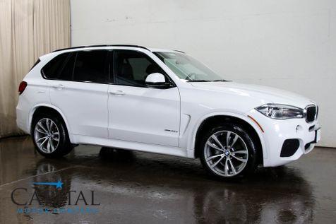 2015 BMW X5 xDrive35d AWD Clean Diesel SUV w/M-SPORT Pkg, Navigation, 360º Cameras, LED Lights & 20-in Rims in Eau Claire