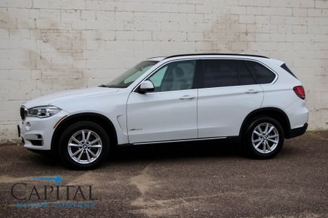 2015 BMW X5 xDrive35d AWD Clean Diesel SUV with Navigation, Heated Seats, Panoramic Roof & Premium Audio Pkg in Eau Claire