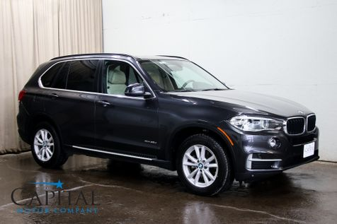 2015 BMW X5 xDrive35d AWD Clean Diesel w/Head-Up Display, Navigation, Heated F/R Seats & Panoramic Moonroof in Eau Claire