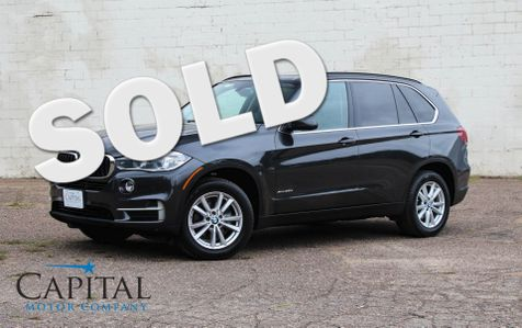 2015 BMW X5 xDrive35d AWD Clean Diesel w/Navigation, Heated Seats, 4-Zone A/C, Bluetooth Audio & Tow Pkg in Eau Claire