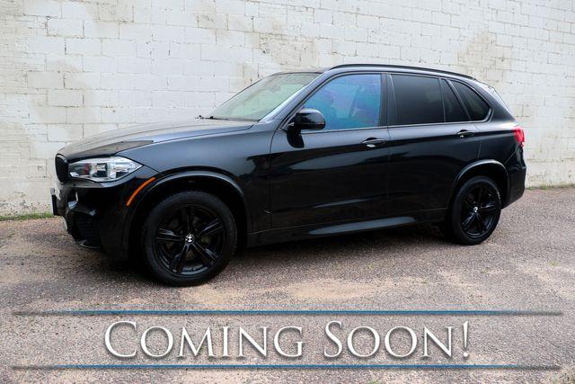 2015 BMW X5 xDrive35d AWD Luxury SUV w/Nav, Backup Cam, Heated Steering Wheel, Heated Seats and HUD