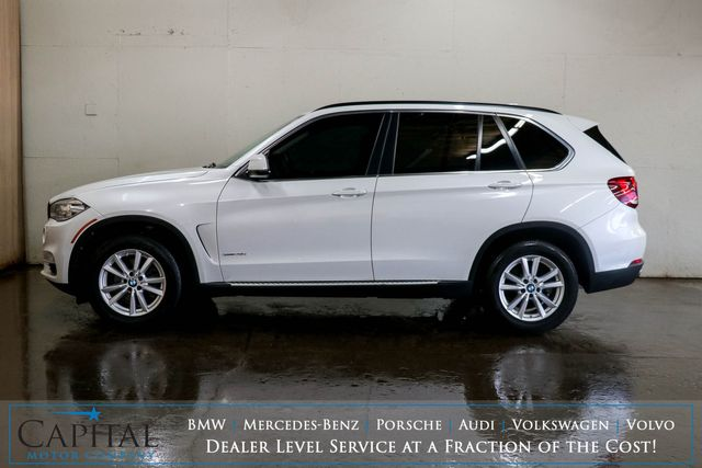 2015 BMW X5 xDrive35i AWD w/Nav, Backup Cam, Panoramic Roof, Heated F/R Seats & Bluetooth Audio