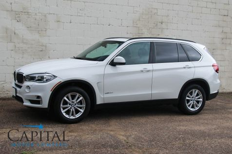 2015 BMW X5 xDrive35i AWD w/Navigation, Heated F/R Seats Keyless Start, 4-Zone A/C and Panoramic Roof in Eau Claire