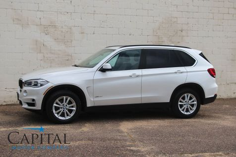 2015 BMW X5 xDrive35i AWD w/Navigation, Heated Seats, Panoramic Roof, Bluetooth Audio & 2-Tone Interior in Eau Claire