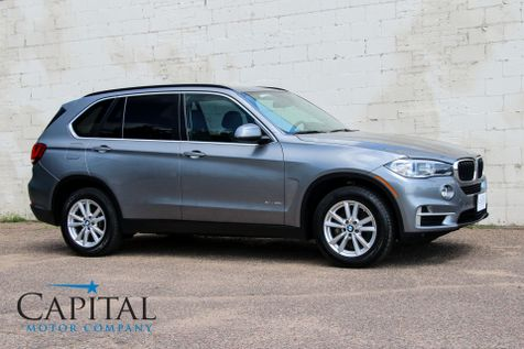 2015 BMW X5 xDrive35i AWD w/Navigation, Head-Up Display Heated F/R Seats, Comfort Access & Bluetooth Audio in Eau Claire