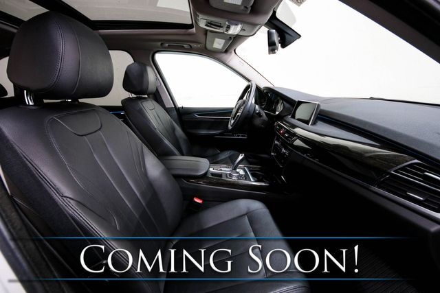 2015 BMW X5 xDrive35i AWD w/Head-Up Display, Nav, Heated Seats, Panoramic Moonroof & Premium Audio in Eau Claire, Wisconsin 54703