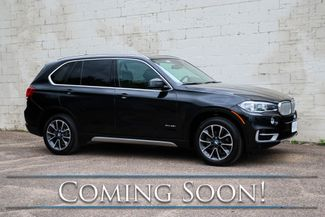 2015 BMW X5 xDrive35i AWD w/Navigation, 360º Cameras, Heated/Cooled Seats, Panoramic Roof & H/K Audio in Eau Claire, Wisconsin 54703