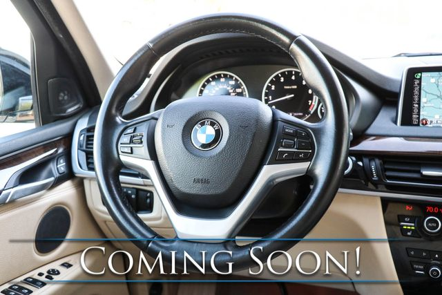"""2015 BMW X5 xDrive35i AWD Luxury SUV w/Head-Up Display, NAV, 360º Surround View, Panoramic Roof & 19"""" Rims in Eau Claire, Wisconsin 54703"""