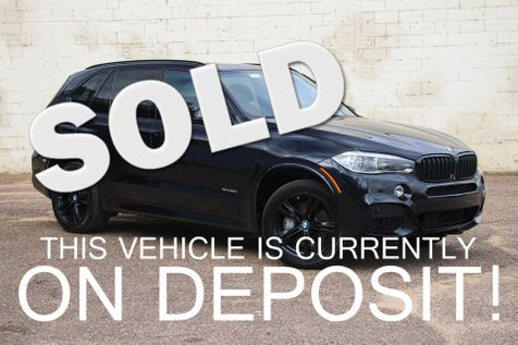 2015 BMW X5 xDrive50i M-Sport V8 SUV w/Executive Pkg, Navigation, Harman/Kardon Audio & Black Rims in Eau Claire