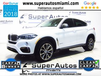 2015 BMW X6 sDrive35i X-Line with Nappa Leather Package in Doral, FL 33166