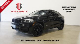 2015 BMW X6 xDrive50i HUD,ROOF,NAV,HTD/COOL LTH,BLK 20'S,70K in Carrollton, TX 75006