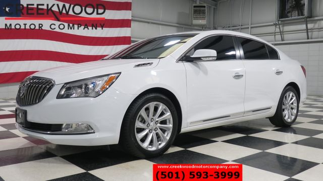 2015 Buick LaCrosse White Sunroof Leather Heated New Tires 28mpg CLEAN