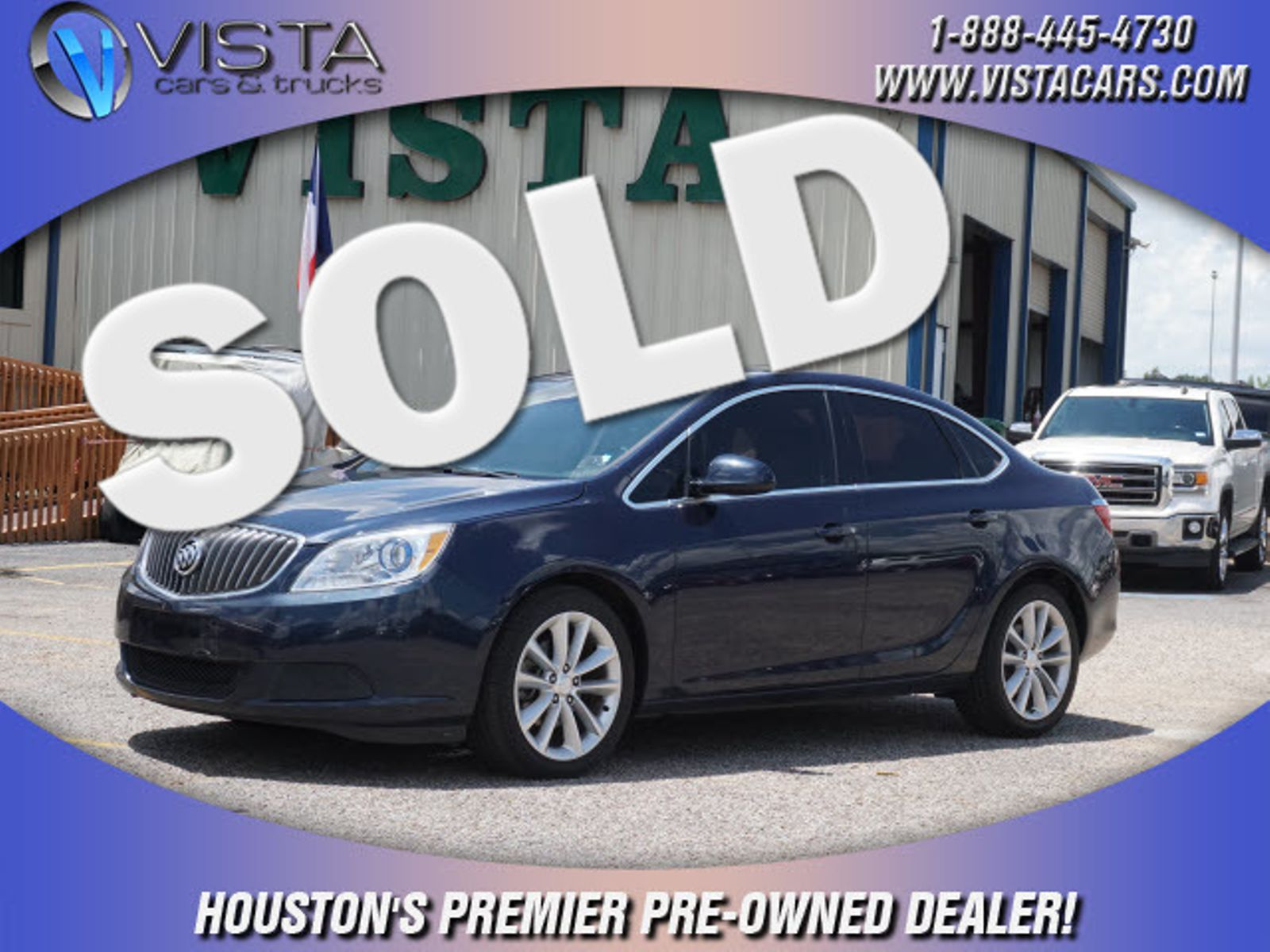 2015 Buick Verano City Texas Vista Cars And Trucks Rear View Camera In Houston