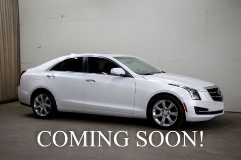 2015 Cadillac ATS-4 AWD Luxury Sports Car w/Navigation Heated Seats, Keyless Start and Bose Audio System in Eau Claire